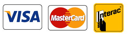 West Boulevard Cleaners accepts Visa, Mastecard, and Interac